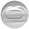 Mammal Glass Eyes. A high quality crystal concave/convex eye with a transparent oval pupil.