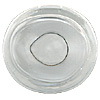 Special Offer - A high quality crystal fish eye slightly oval in shape with a directional look and a clear crystal pupil. Designed for self painting.