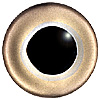 Special Offer - Brown Trout Eye. European style multicolour fish eyes on wire made by hand from crystal glass and painted and fired for a permanent finish.